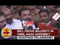 Will prove Majority in Tamil Nadu Assembly | Chief Minister Edappadi Palanisamy | Thanthi TV
