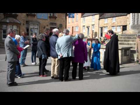 Stations of the Cross at the Eleanor Cross