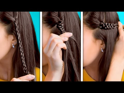 FAST AND SIMPLE HAIR STYLING TRICKS TO SAVE YOUR TIME