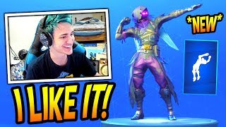 "NINJA REACTS TO *NEW* ""FLIPPIN' INCREDIBLE"" EMOTE/DANCE! *RARE* Fortnite FUNNY & SAVAGE Moments"
