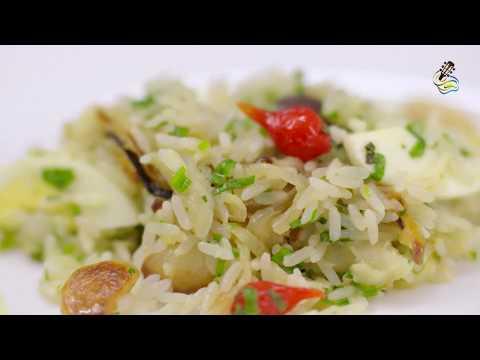 Arroz com Bacalhau - Chef Waléia Noleto (24 de Dezembro de 2017)
