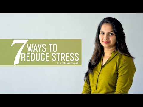 Are you stressed? | 7 natural ways to Reduce Stress