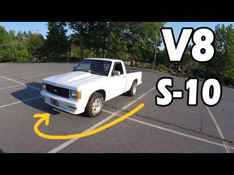 FEATURED! This Chevrolet S10 has a V8 and runs on RACE GAS | Truck Central