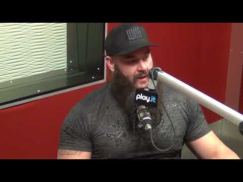"""WWE's Braun Strowman talks about the NFL Combine and beating """"Game of Thrones"""" """"The Mountain"""""""