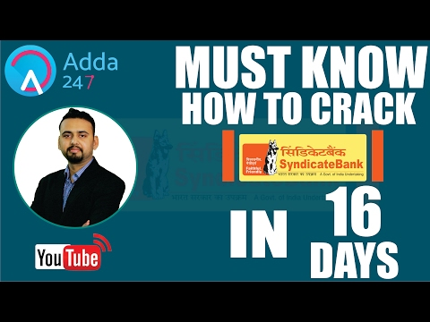 How to Crack Syndicate Exam in 16 days ( Self Preparation Guide for English)