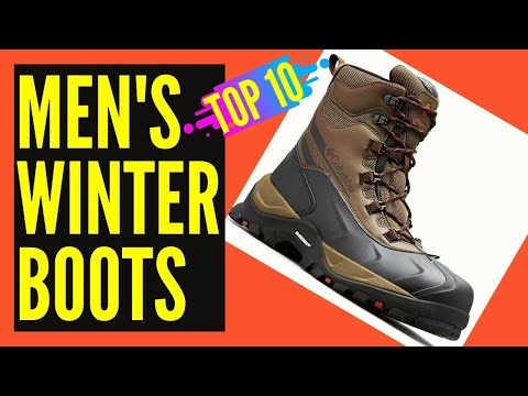 Top 10 Best Mens Winter Boots Reviews || Best Winter Snow Boots for Men