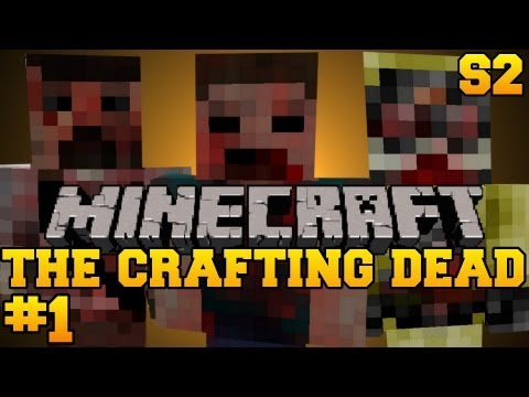 Minecraft: The Crafting Dead - Let's Play - Episode 1 (The Walking Dead/DayZ Mod) S2