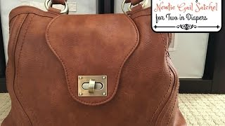 Review/Packing Video: Newlie Gail Satchel for Two in Diapers