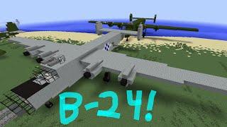 Minecraft Tutorial: B-24 Liberator!