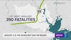 4 of U.S.'s deadliest highways in Houston