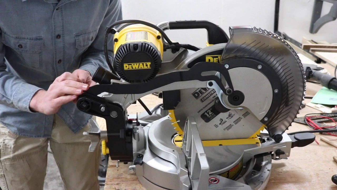 fixing a wobbly miter saw youtube