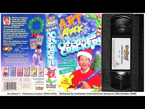 Art Attack  - Christmas Cracker! (1998)