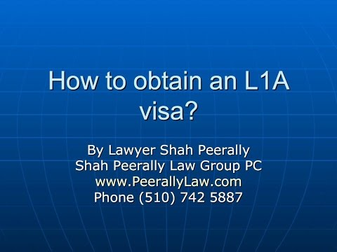 L1A visa requirements| L1A for Multinational Executives and Managers