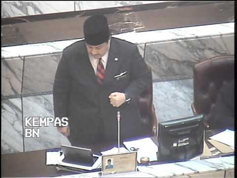 Ucapan YB Datuk Tengku Putra Haron Aminurrashid Jumat di Dewan Undangan Negeri 16 November 2014