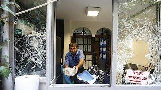تخريب قنصلية تايلاندا في اسطنبول
