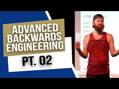 Advanced Backwards Engineering Strategies PT.2 | Native Adve