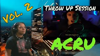Acru- Throw Up session  Vol. 2 reaction by Miss Jai