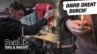 Berlin - Tag & Nacht - Zündet David das Body Burn an? #1695 - RTL II