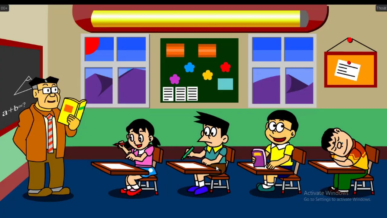 Xem Doraemon và Nobita trả thù Chaien và XeKo mỏ nhon.