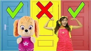 Don't Choose the Wrong Toy with Paw Patrol Skye and Ellie Sparkles