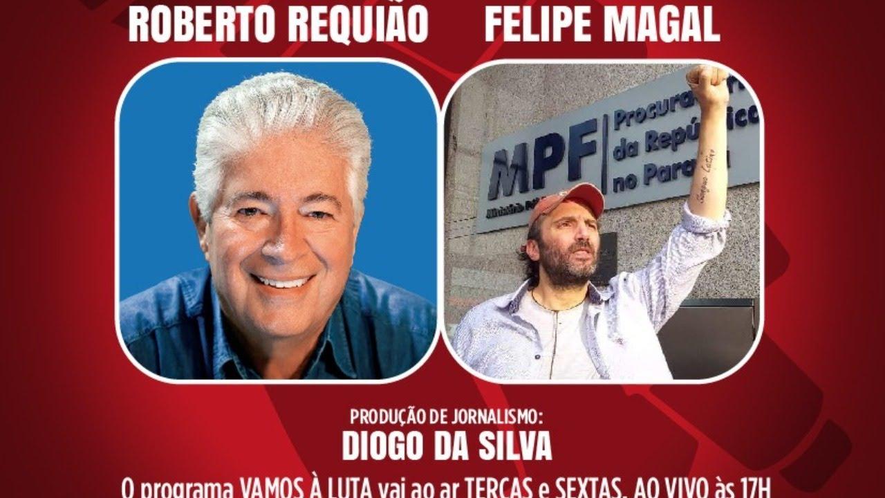 Programa Vamos à Luta: Democracia! com Felipe Magal da Rádio Cultura