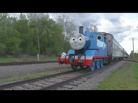 Spend a Day Out With Thomas at the Medina Railroad Museum