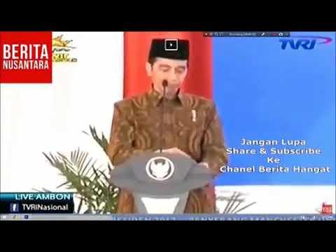 Jokowi Salah Ucap Lahaula Wala Kuata Illa Billah VIRAL