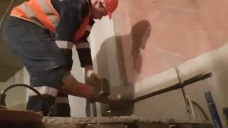 Алмазная резка бетона. Липецк. ДК НЛМК.
