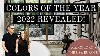 COLOR OF THE YEAR 2022 | HOME COLOR TRENDS IN THE US & EUROPE | INTERIOR DESIGN | HOUSE OF VALENTINA