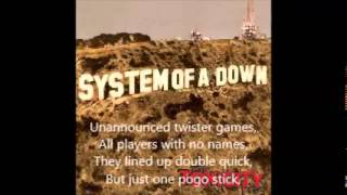 System of A Down Toxicity Full Album with Lyrics to all Songs