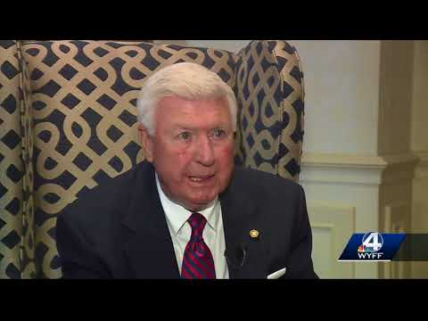 Former sheriff Johnny Mack Brown to serve as interim in Greenville County