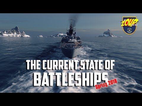 The Current State of Battleships in World of Warships - Spring 2018