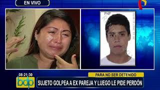 Mujer denuncia por agresión a su ex pareja y lo dejan en libertad