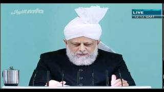 খুতবা জুমা  (Friday Sermon) 22 October 2010 Part 1/5
