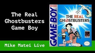 The Real Ghostbusters (Game Boy) Mike Matei Live
