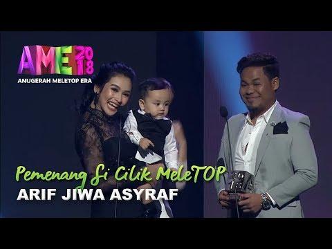 #AME2018 I Arif Jiwa Asyraf | Pemenang Si Cilik MeleTOP I Anugerah MeleTOP Era 2018