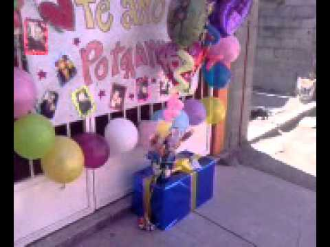 Sorpresa cumplea os 2 youtube for Sorpresas para aniversario