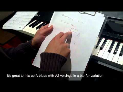 Live Piano Lesson Relative Major And Minor Chords Piano Lessons