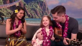 Download SWEET Father Daughter Duo & Moana Star Aulii Cravalho Sing How Far Ill Go! Mp3