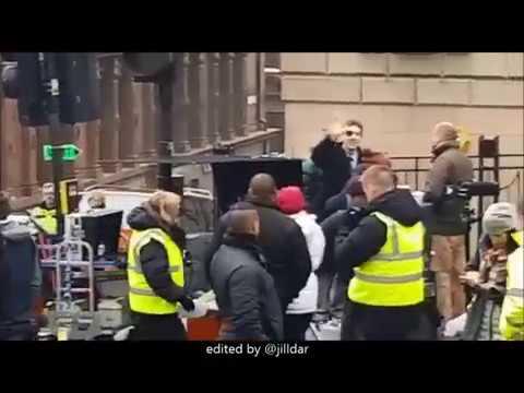 Benedict Cumberbatch filming Patrick Melrose 10/2017
