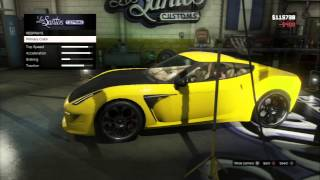 grand theft auto v los santos customs modded gratti carbonizzare turbo tuning ems tranny ps3