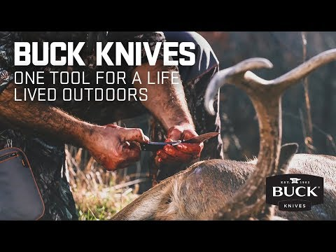 Buck 546BKS Open Season Folding Skinner video_1