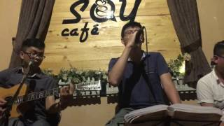 One Call Away (Charlie Puth) - Acoustic Cover - Guitar Tân Bo ft Hoàng Thân at Sat cafe