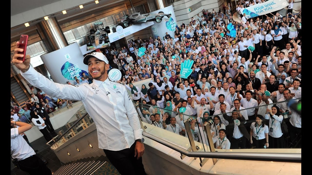 Annual 'homecoming' for Lewis Hamilton