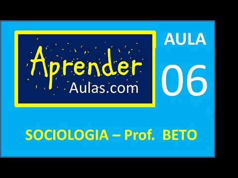 SOCIOLOGIA - AULA 6 - PARTE 1 - O TRABALHO RACIONAL. O TAYLORISMO