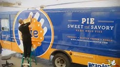 WrapJax.com - Seattle Food Truck vehicle wrap for Sweet & Savory Pie