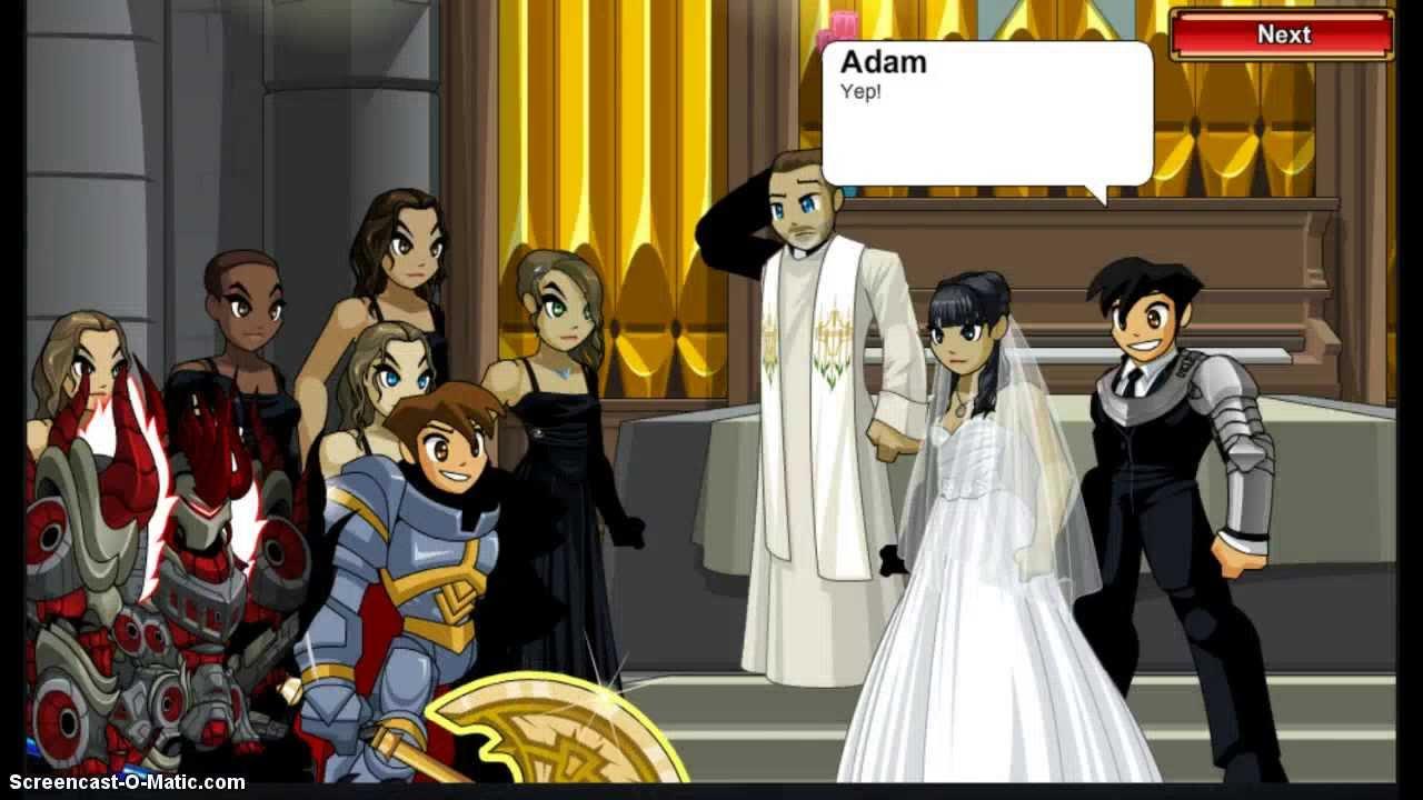 =AQW= ARTIX'S WEDDING CUTSCENES [P1]