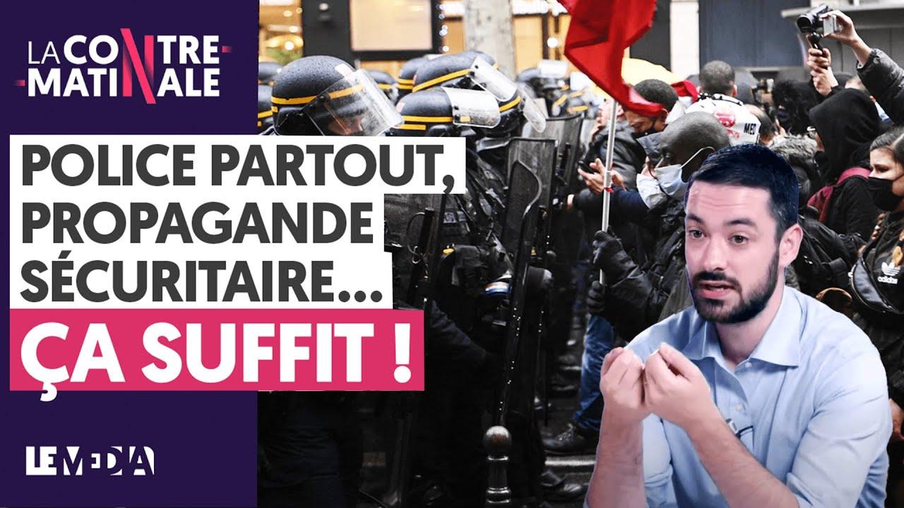 POLICE PARTOUT ET PROPAGANDE SÉCURITAIRE : ÇA SUFFIT !