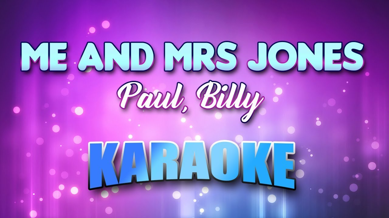 Billy paul me and mrs jones lyrics