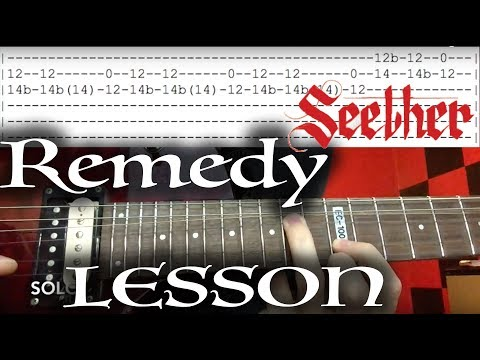 How to Play Remedy by Seether on Guitar...